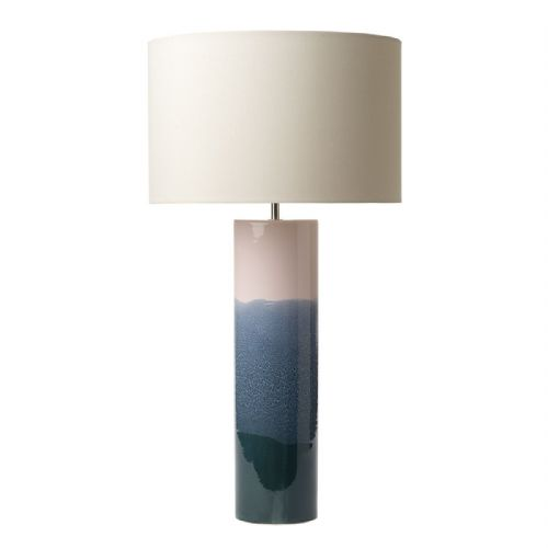 Ignatio Table Lamp Pink/Blue/Green Ceramic Base Only